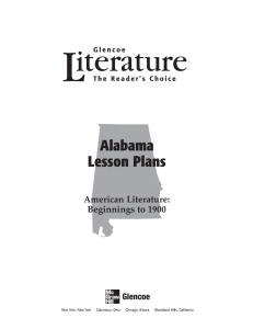 Alabama Lesson Plans - McGraw