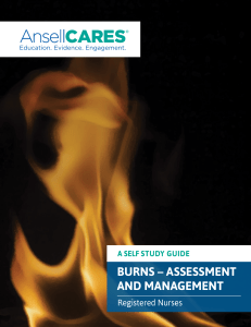 Burns - Assessment and Management