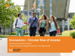 Economics – Circular flow of income