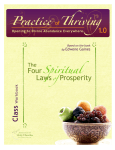 Practice Thriving - Unity Worldwide Ministries