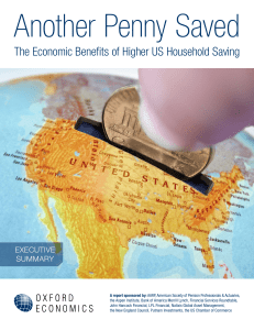 The Economic Benefits of Higher US Household Saving