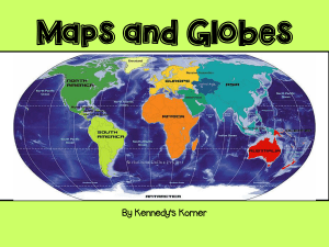 Maps and Globes - stmarys