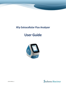 Seahorse XFp Analyzer User Guide