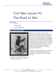 The Civil War - California History