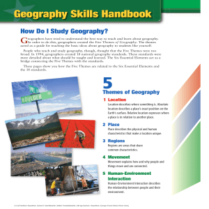 National Geographic Geography Skills Handbook