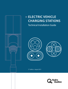 Electric Vehicle Charging Stations : Technical - Hydro