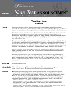 New Test ANNOUNCEMENT