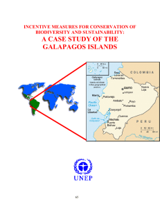 a case study of the galapagos islands
