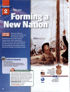 Chapter 2 - Forming a New Nation