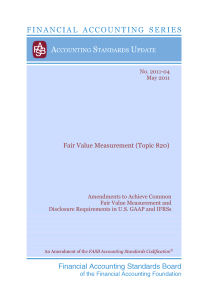 Fair Value Measurement (Topic 820)