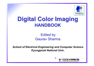Chapter 3c, Physical models for color prediction