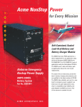 Acme NonStop Power - Acme Aerospace Inc.