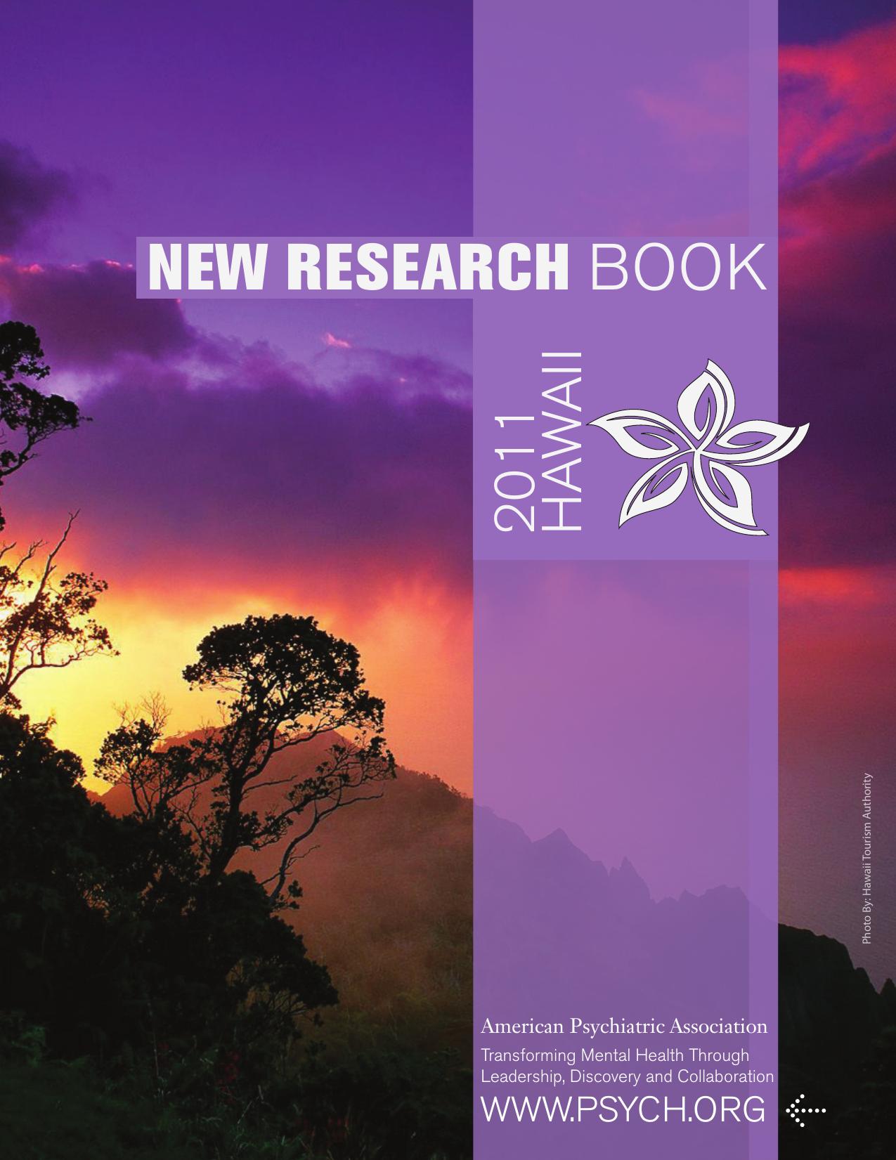 new research book - American Psychiatric Association d1c7c66657