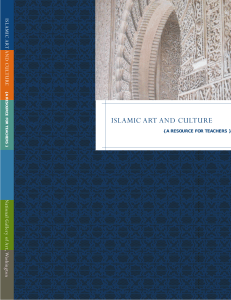 Islamic Art and Culture: a resource for teachers