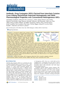 Antibody–Drug Conjugates (ADCs) Derived from