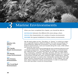 Introduction to Marine Science