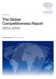 The Global Competitiveness Report 2014–2015 - WEF