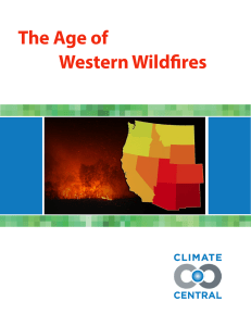 The Age of Western Wildfires
