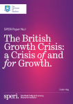 SPERI Paper No.1 - Sheffield Political Economy Research Institute