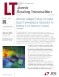 Ultralow Voltage Energy Harvester Uses Thermoelectric Generator for