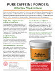 pure caffeine powder - Cornell Cooperative Extension of Suffolk