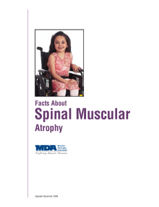 Facts About Spinal Muscular Atrophy