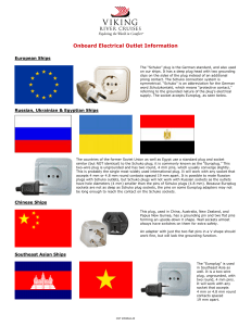 Onboard Electrical Outlet Information