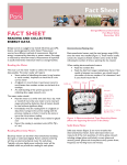 Australian Pork Fact Sheet: Reading and Collecting Energy Data