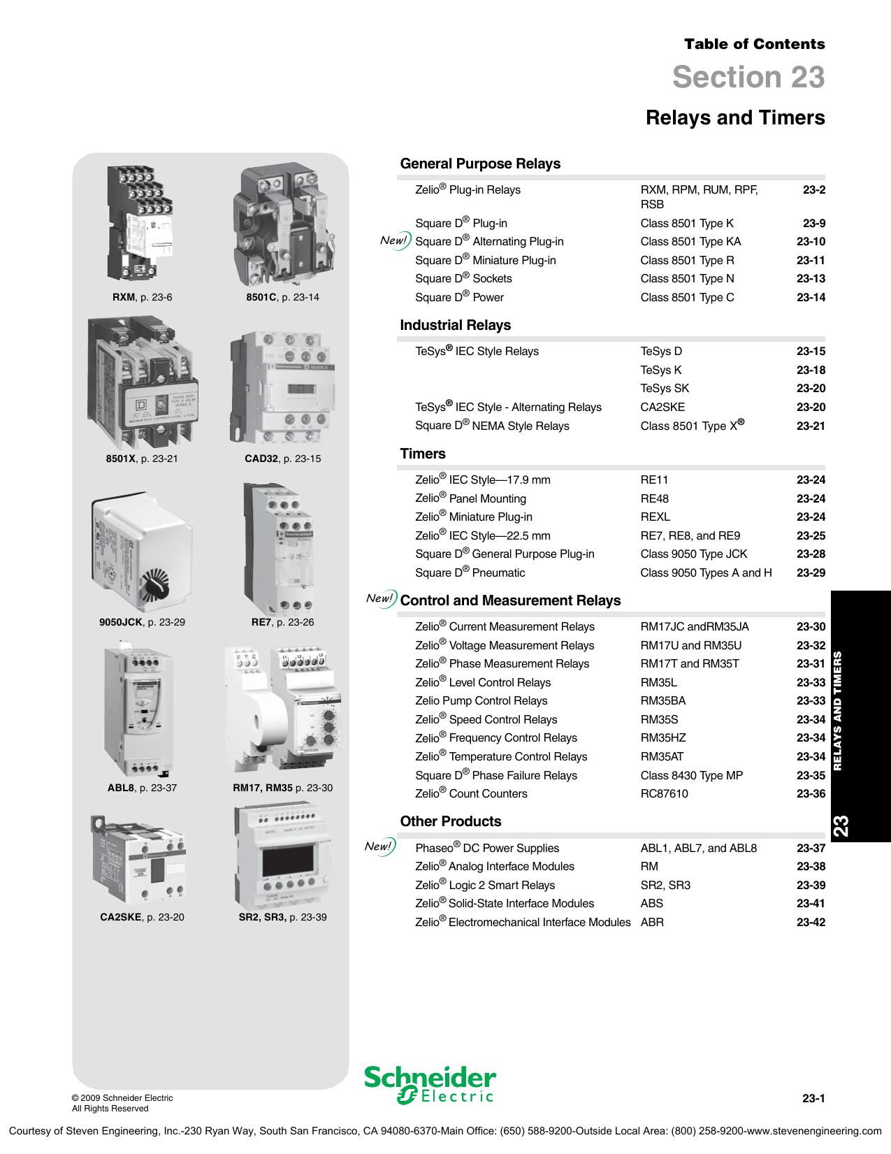 schneider electric digest 175 relays and rh studyres com