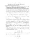 ECE 3530 PRACTICE MIDTERM 1 SOLUTIONS 1. There is a deck