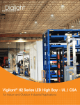 Vigilant® H2 Series LED High Bay - UL / CSA