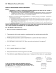 Ch. 15 Evolution packet-2009