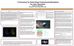 A Taxonomy for Technology Producing Exobiosphere
