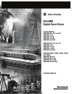 Ultra3000 Digital Servo Drives Installation Manual