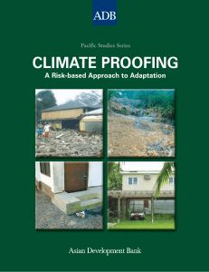 Climate Proofing: A Risk-based Approach to Adaptation