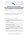 dodgeball tshirt contract - Warren Hills Regional School District