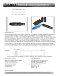 Z-Bolt® Sapphire Galaxy (BX-5) Extreme Duty Blue Laser Pointer