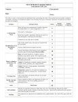 3-D Cell Model Evaluation Rubric