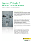 Square D® Model 6 Motor Control Centers