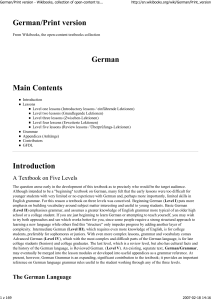 German/Print version - Wikibooks, collection of open