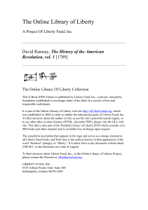The History of the American Revolution, vol. 1