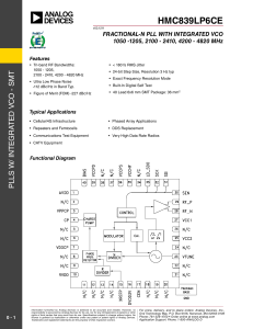 HMC839LP6CE - Analog Devices