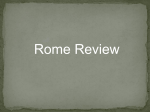 PRACTICE QUESTION Who became the absolute ruler of Rome