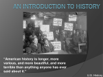 An Introduction to History