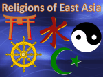 Religions of East Asia