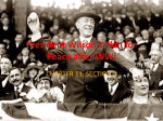 President Wilson*s Plan for Peace after WWI
