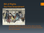 2. First Amendment ppt