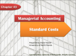 Managerial Accounting Chapter 43