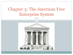 Chapter 3: The American Free Enterprise System