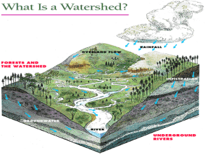 What is a watershed?